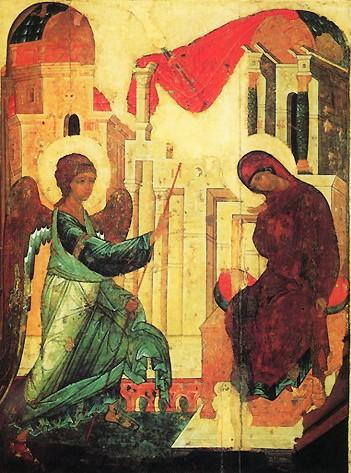 Икона Благовещания пресвятой Богородицы