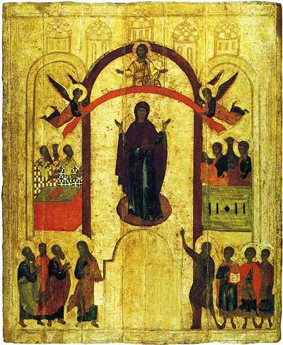 Икона Покров Божьей Матери