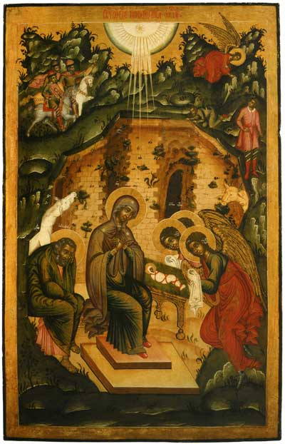 Nativity of Our Lord Jesus Christ - Icon.